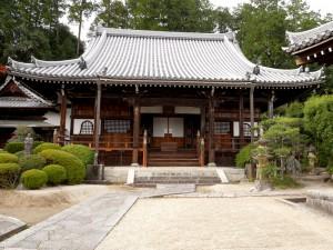 【九品寺】葛城道にある素晴らしい屋根瓦の寺の写真