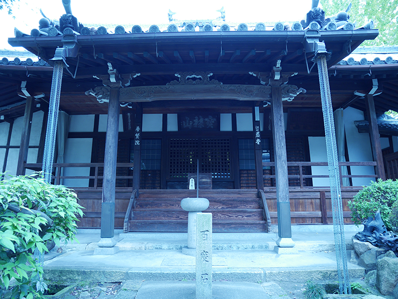 【江口君堂】西行法師と歌を詠みあった女主人紗の物語が残るの写真