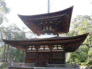 【石山寺】滋賀県が誇る日本最古の多宝塔を有する寺の写真