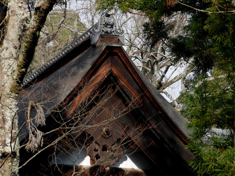本堂の鬼瓦