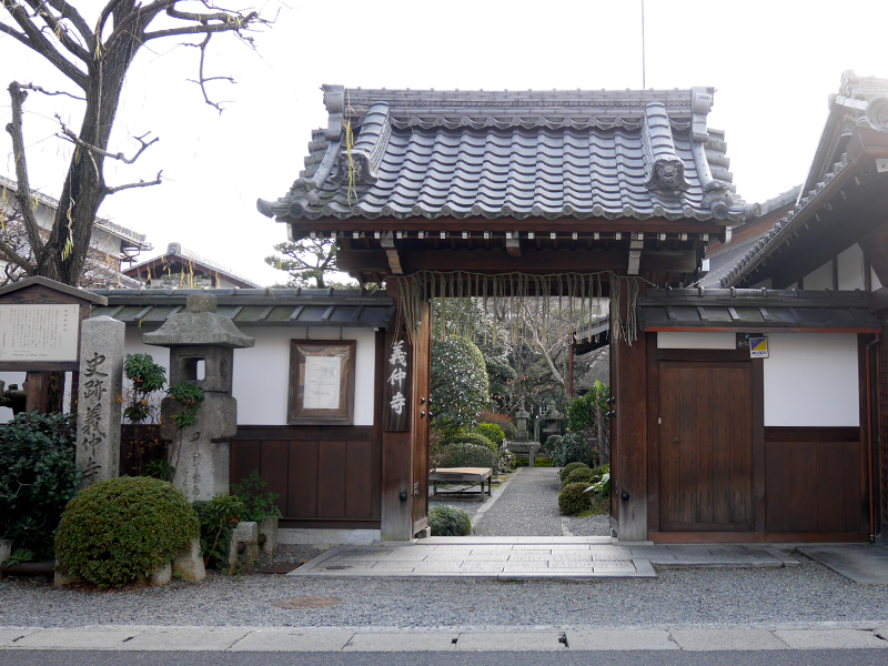 【義仲寺】松尾芭蕉が愛し最後に供養される場所に選んだ寺