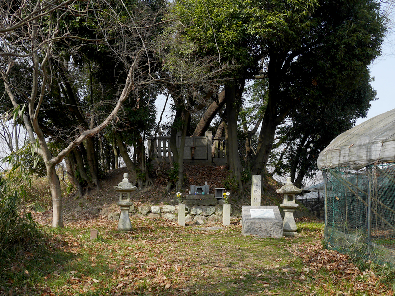 源頼信の墓