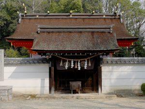 【壺井八幡宮】河内源氏の本拠地に氏神を勧請した神社の写真