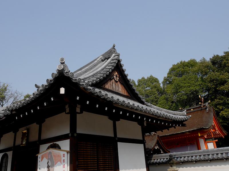 壺井権現社の本殿と拝殿