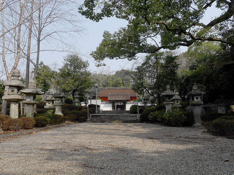壺井八幡宮の拝殿