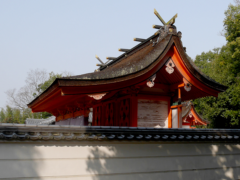壺井八幡宮の本殿