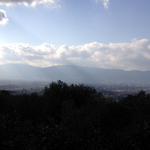 【畝傍山山頂】の写真